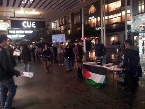 boycott israel frid leafleting