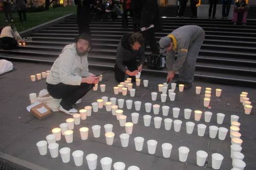 candles nakba